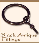 Black Antique Fittings